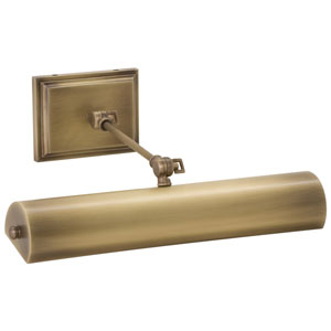 Oxford  Antique Brass One-Light LED Picture Light