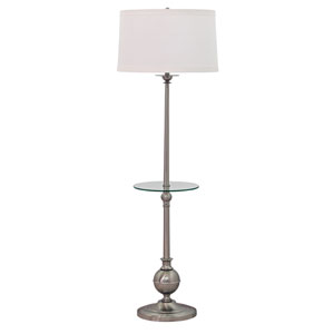 Essex Satin Nickel 56-Inch Floor Lamp