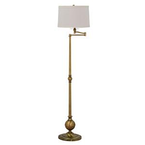 Essex Antique Brass 61-Inch Floor Lamp