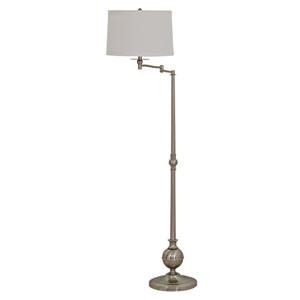 Essex Satin Nickel 61-Inch Floor Lamp