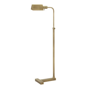 Fairfax Antique Brass One-Light  Floor Lamp