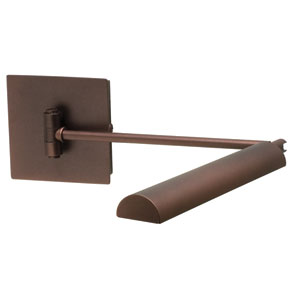 Generation Chestnut Bronze LED Swing Arm Lamp
