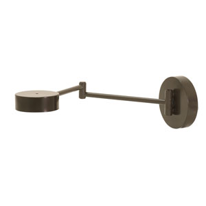 Generation Architectural Bronze Seven-Inch LED Wall Arm Swing