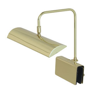 Zenith Polished Brass 12-Inch LED Piano Lamp