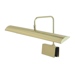 Zenith Polished Brass 24-Inch LED Piano Lamp