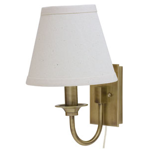 Greensboro Antique Brass One-Light Wall Lamp