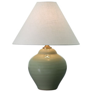 Scatchard Celadon One-Light  Table Lamp