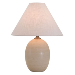 Scatchard Oatmeal One-Light Table Lamp