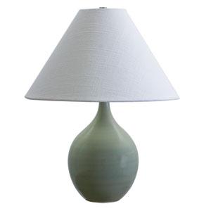 Scatchard Celadon One-Light  Table Lamp