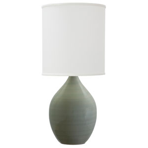 Scatchard Celadon 20.5-Inch One-Light Table Lamp