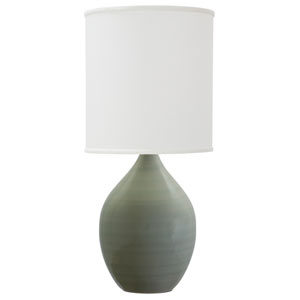 Scatchard Celadon 24-Inch One-Light Table Lamp