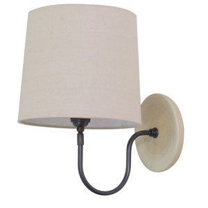 Scatchard Oatmeal 13.5-Inch One-Light Wall Sconce