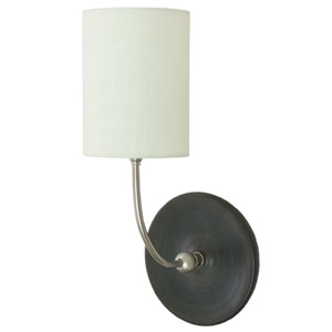 Scatchard Black Matte 14.5-Inch One-Light Wall Sconce