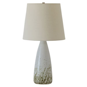 Scatchard Decorated White Gloss Table Lamp