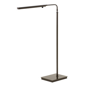 Horizon Task Architectural Bronze LED Floor Lamp