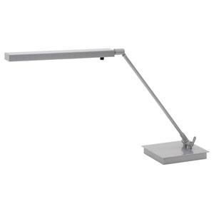 Horizon Task Platinum Gray LED Desk Lamp