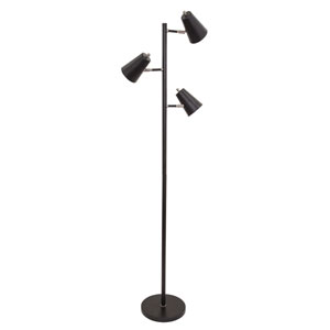 Kirby Black LED Floor Lamp