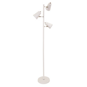 Kirby White LED Floor Lamp