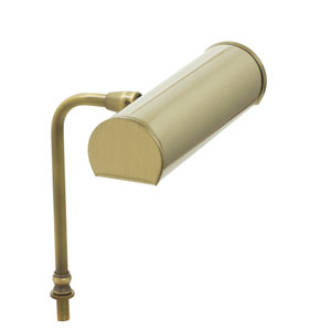 Advent Antique Brass Seven-Inch LED Lectern Lamp