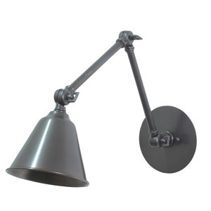 Library Oil Rubbed Bronze One-Light LED Wall Sconce