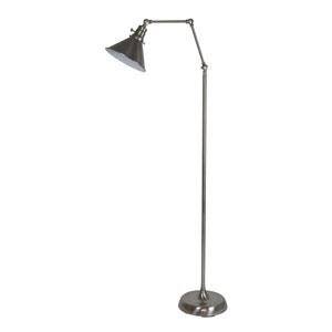 Otis Satin Nickel 49-Inch One-Light Floor Lamp