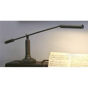 Mahogany Bronze Piano/Desk Lamp