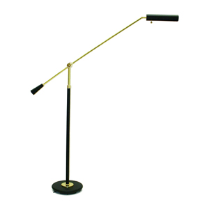 Polished Brass Adjustable Grand Piano Lamp