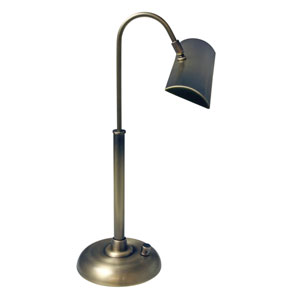 Zenith Antique Brass 12-Inch LED Piano or Desk Lamp