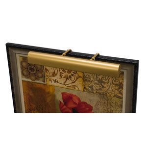 Classic Traditional Gold Three-Light  Picture Light