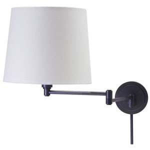 Townhouse Oil Rubbed Bronze One-Light Swing Arm Lamp