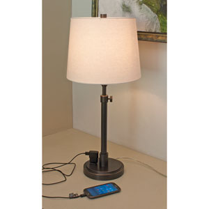 Townhouse Oil Rubbed Bronze One-Light  Table Lamp