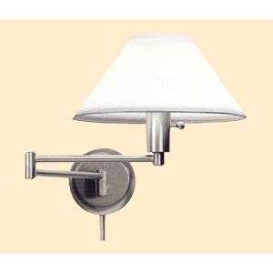 Satin Nickel Wall Lamp