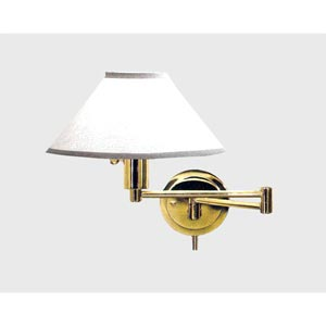 Polished Brass Wall Lamp