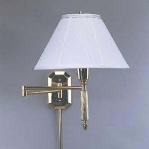 One-Light Wall Swing Arm Lamp