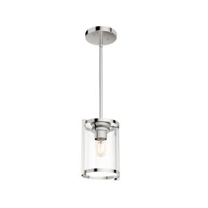 Astwood Polished Nickel Nine-Inch One-Light Mini Pendant