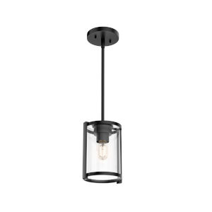 Astwood Black Nine-Inch One-Light Mini Pendant