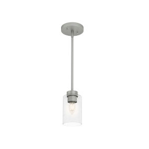 Hartland Silver Eight-Inch One-Light Mini Pendant