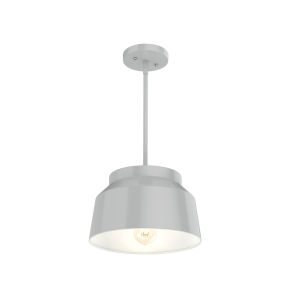 Cranbrook Gray Seven-Inch One-Light Pendant