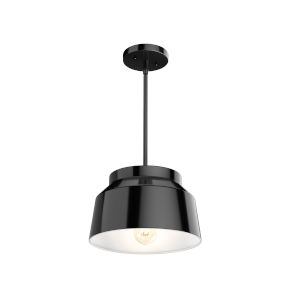 Cranbrook Black Seven-Inch One-Light Pendant