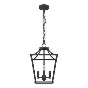 Laurel Ridge Natural Iron 12-Inch Four-Light Pendant
