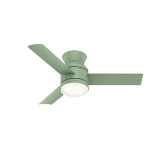 Dublin Dusty Green 44-Inch Two-Light LED Ceiling Fan