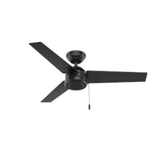 Cassius Matte Black 44-Inch Outdoor Ceiling Fan