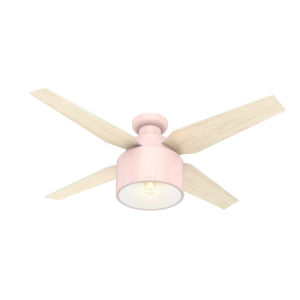 Cranbrook Low Profile Blush Pink 52-Inch LED Ceiling Fan
