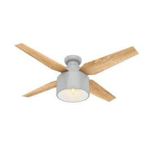 Cranbrook Low Profile Dove Grey 52-Inch LED Ceiling Fan