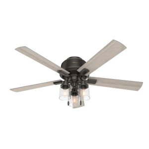 Hartland Noble Bronze 52-Inch Three-Light LED Ceiling Fan