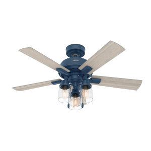 Hartland Indigo Blue 44-Inch LED Ceiling Fan