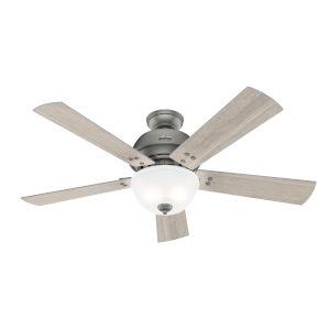 Highdale Matte Silver 52-Inch LED Ceiling Fan