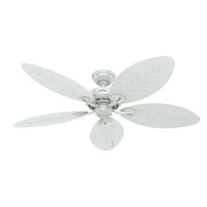 Bayview White 54-Inch Outdoor Ceiling Fan