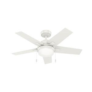 Bartlett Fresh White 44-Inch LED Ceiling Fan