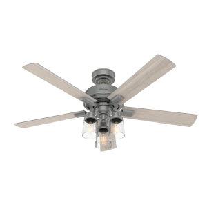 Hartland Matte Silver 52-Inch LED Ceiling Fan